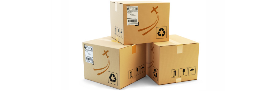 Online shopping parcels to your mailboxes