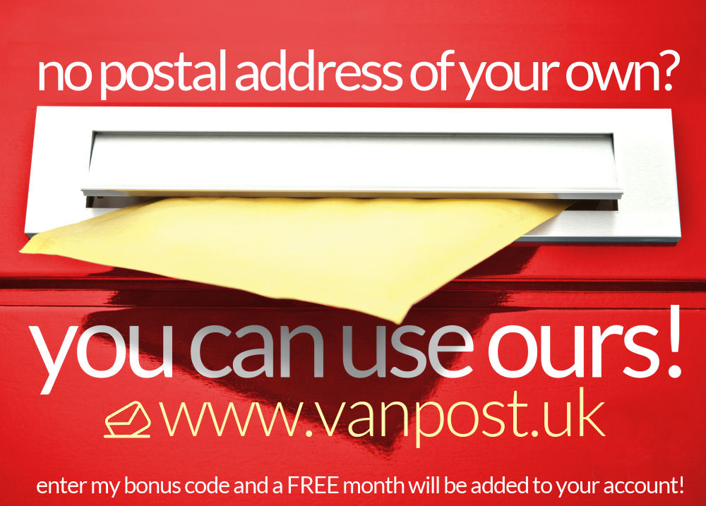 Right click this vanpost advert and 'save image as' to copy!